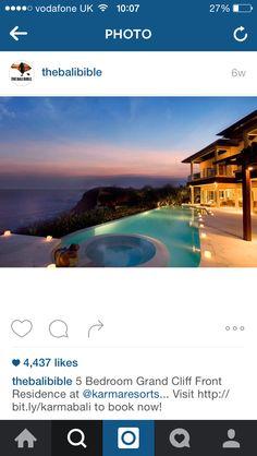 Bali on the vaca list