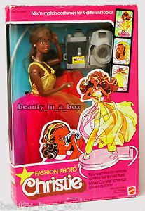 vintage aa dolls | ... Photo Christie Classic Barbie Doll AA African American Rare # 2324