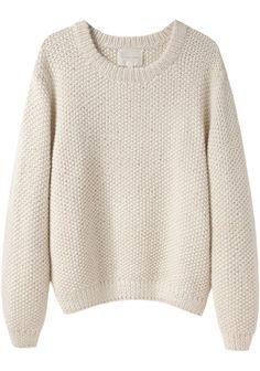 La Garçonne Moderne / Sylvia Alpaca Handknit Pullover | La Garçonne