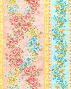 Forever Love - Primrose Garden Stripe - Blossom Pink