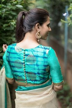 Blouse Designs: Blouse designs imagesAre you searching for the best blouse design images to get beautiful ideas that how to make different designs?So here we have tons of collections of blouse designs different types of patterns and. Best Blouse Designs, Simple Blouse Designs, Stylish Blouse Design, Sari Blouse Designs, Bridal Blouse Designs, Blouse Patterns, Saree Blouse, Saree Dress, Dress Skirt