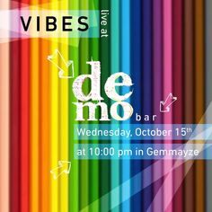 "Intimate settings gather ""#Vibes""  at Demo- #Gemmayze for an acoustic set of Indie, #Pop/ #Rock_Tunes with #RachBassili & #RachBassili on #Vocals & #EmileDeeb on #Guitar on Wednesday, #October 15 at 10 pm sharp!  see more: http://bit.ly/1wFHOu3"