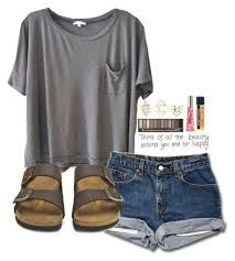 Image result for cute birkenstock outfits