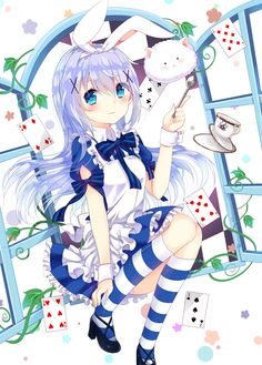 Chino in Wonderland [Gochuumon wa Usagi desu ka?] - Checkout more news on http://ift.tt/1dTOCQZ