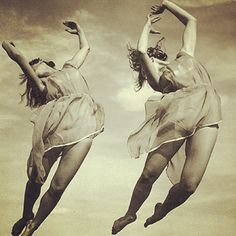 Love this vintage shot.  Definitely #isadoraduncan inspired.  #spring #dance #springisintheair #justmove #jump #fly #naturalbeauty #Padgram