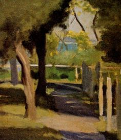 View Path to the Beach by Clarice Marjoribanks Beckett on artnet. Browse upcoming and past auction lots by Clarice Marjoribanks Beckett. Landscape Drawings, City Landscape, Landscape Paintings, Landscapes, Australian Painting, Australian Artists, Art For Art Sake, Beach Scenes, Klimt