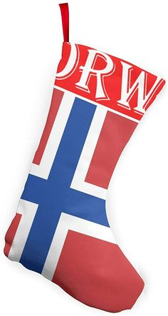 Amazon.com: Norwegian Flag Santa Snowman Christmas 3d Decorative Socks Candy Gift Bag,Large Size Christmas Stockings Xmas Tree For Christmas Decorations And Party Favors: Clothing