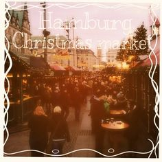 A great travel blog post about Hamburg Christmas market in Germany