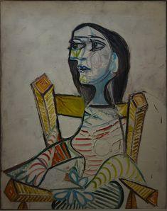 1938 portrait de femme - Musée Picasso Paris (prêt musée Pompidou Paris) 14 dec 2017