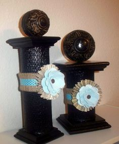 Recycled Tin Can Candlesticks Tin Can Crafts, Crafts To Make, Arts And Crafts, Diy Crafts, Dollar Store Crafts, Dollar Stores, Diy Craft Projects, Craft Ideas, Decorating Ideas