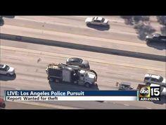 Media Ribs: FULL / INSANE: LA Police Chase Dust storm - Hotel ...