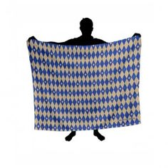 New Girl Yellow And Blue Plaid Blanket