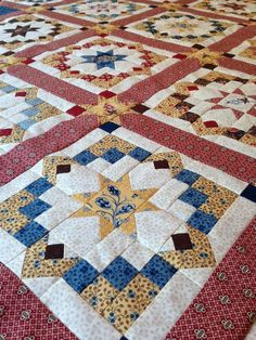 Star Quilt Blocks, Star Quilts, Scrappy Quilts, Easy Quilts, Mini Quilts, Wool Quilts, Quilt Square Patterns, Barn Quilt Patterns, Square Quilt