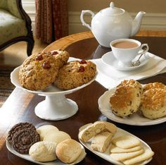 Simple tea, love scones