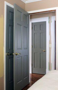 ... abode gray interior doors more guest room gray interior door paint