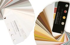 The Guggenheim Museum has launched two collections of interior paint colors.