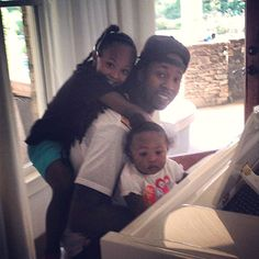 September 17: 2 Chainz spends some quality time with his lovely and cute kids.