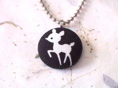 Cute Deer Necklace