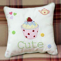 Cute Cupcake Cushion.