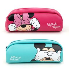 a5438674c0 Mickey Mouse Pencil Case Pen School Office Supply Stationary Simple Cute  Girls