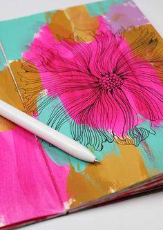 alisaburke: make a $5.00 art journal