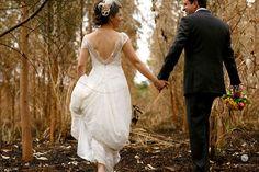 Mábili & Claiton - Casamento de Circo Foto: Nina Vilas Boas