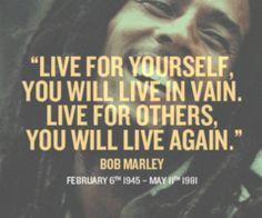 inspirational Bob Marley