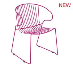 design colorful wire armchair