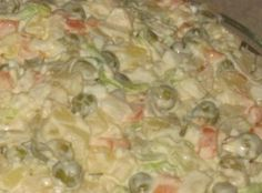 Polish Vegetable Salad (Salatka Jarzynowa ) Recipe