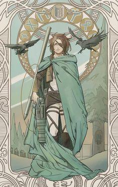 Manga Anime, Fanarts Anime, Anime Art, Hanji Attack On Titan, Attack On Titan Fanart, Me Me Me Anime, Anime Guys, Comics Vintage, Attack On Titan Aesthetic