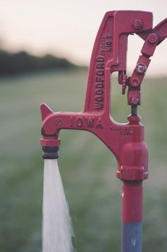Woodford by Erica Corder on 500px #photography #red #Kansas #pipe #plumbing #water #field