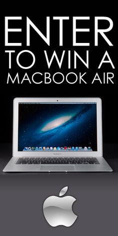 #Repin to #Win a #Macbook Air!