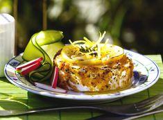 Grilovaný Hermelín s citrony a česnekem