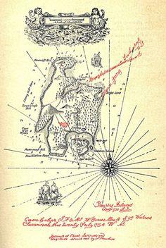 Treasure Island (Robert Louis Stevenson, 1883).