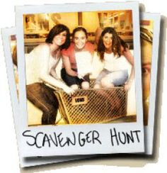 Adult Scavenger Hunt Ideas & Lists- Would love to do a scavenger hunt/ road rally at school