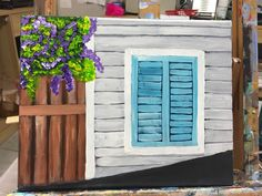 A personal favorite from my Etsy shop https://www.etsy.com/listing/273659198/key-west-conch-house-originial-painting