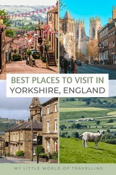 9 Best Places To Visit In Yorkshire 1 Europe Travel Tips, Travel Usa, Travel Guides, Travel Destinations, Weekend Trips, Day Trips, Yorkshire England, Yorkshire Dales, West Yorkshire