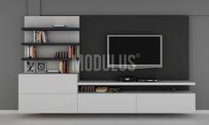 MODULUS Sistema Mural 28 #Living #Livingroom #contemporaneo  #contemporary #design