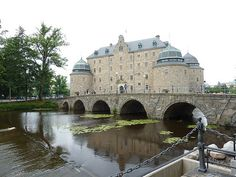 Orebro Castle,  Örebro, Sweden