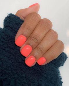 Color used: free. Dip nails at home. Dip Nail Colors, Sns Nails Colors, Color For Nails, Toe Nail Color, Neon Nails, Shellac Nails, Cute Acrylic Nails, Cute Nails, Pretty Nails