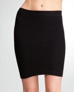 bebe Tube Mini Pleat Skirt
