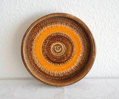 Bitossi ALDO LONDI Ceramics Bowl Italian Design Stoneware
