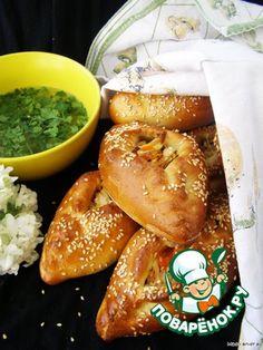 Старорусские расстегаи с куриным мясом