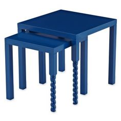 Design by Conran Tullia Nesting Tables  found at @JCPenney