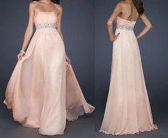 peach prom dress, peach dresses, long prom dress, chiffonr prom dress, long formal prom dress, RE152