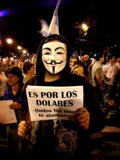 el pueblo se moviliza #18A #cacerolazo #reforma #judicial #CFK #Argentina