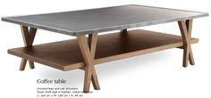 Hermes coffee table
