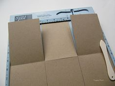 Accordion Tri-Fold Flap album. this would also be good used as an insert for a mini