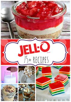 Over 75 Jell-O and Pudding Recipes | www.somethingswanky.com