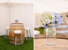 Marquee wedding reception styling | Copyright: SilverEdge Photography - Brisbane Wedding Photographers